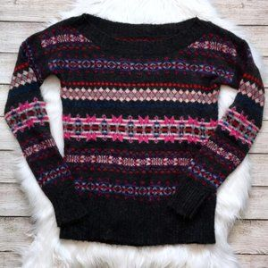 American Eagle Fair Isle Sweater